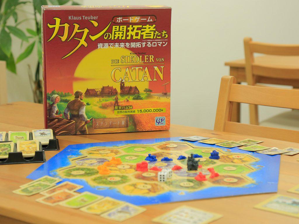 運と戦略「カタンの開拓者たち」