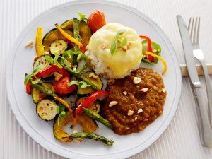 夏野菜のカレープレート
