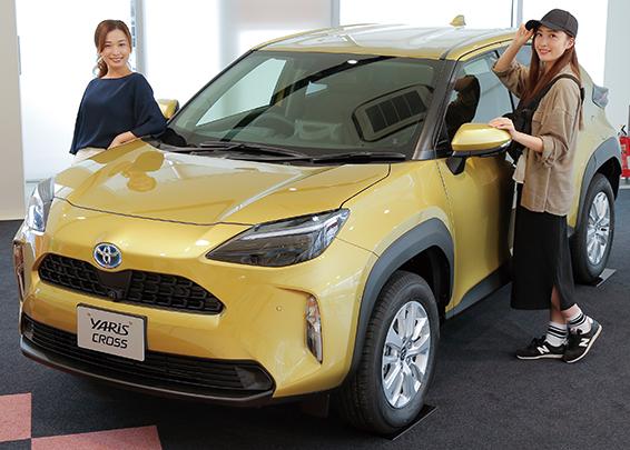 OLE New Car ReportコンパクトSUV「新型ヤリスクロス」が誕生! 女性のやりたいことを叶える絶好のパートナー