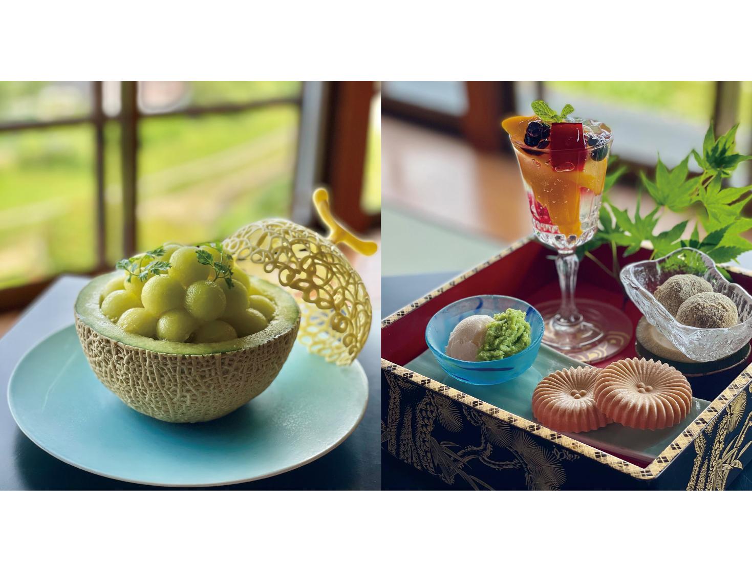 『懐石料理 東洋館』がカフェをオープン 贅を尽くしたスイーツを堪能!