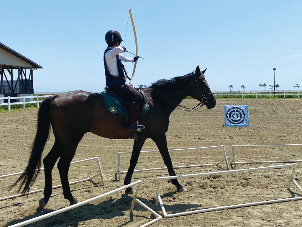 仙台市 海岸公園馬術場「乗馬試乗会(20分)」